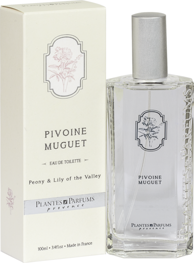 Eau de Toilette Peony & Lily of the Valley / Kielo & pioni PP