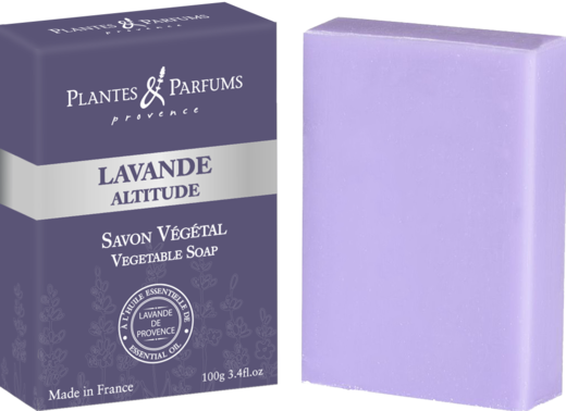 Vegetable Soap Lavender  /  Palasaippua Laventeli 100 g PP